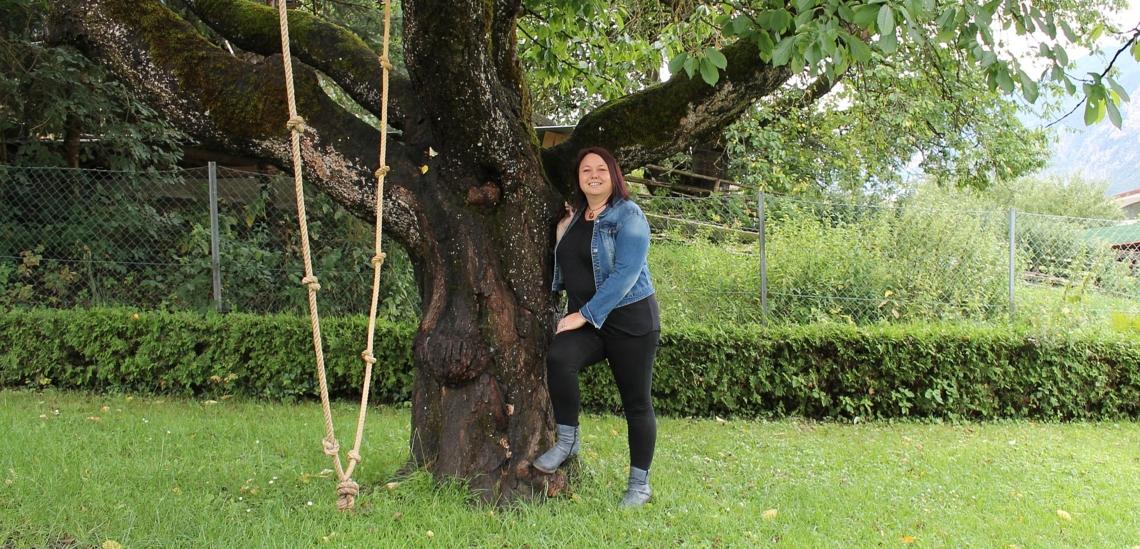 Beatrix Praxmarer in Garten