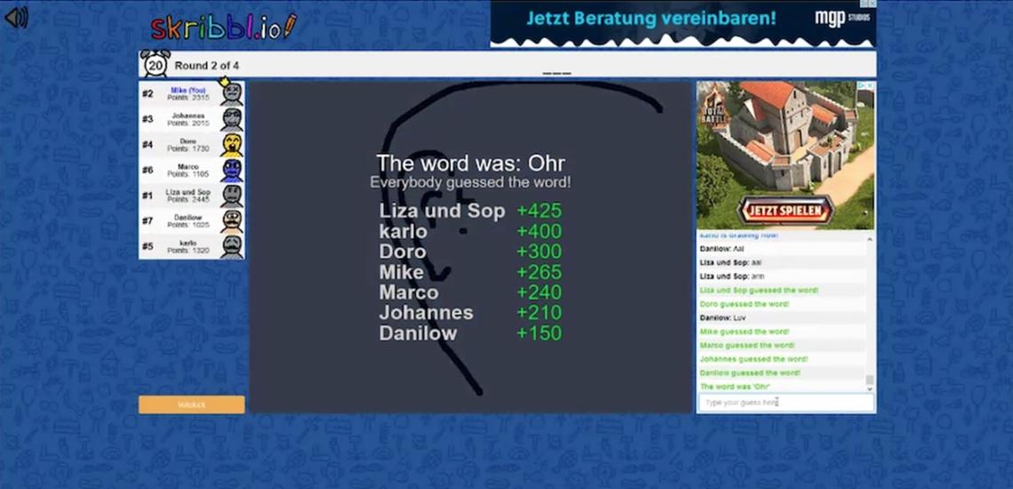 Screenshot Online-Game