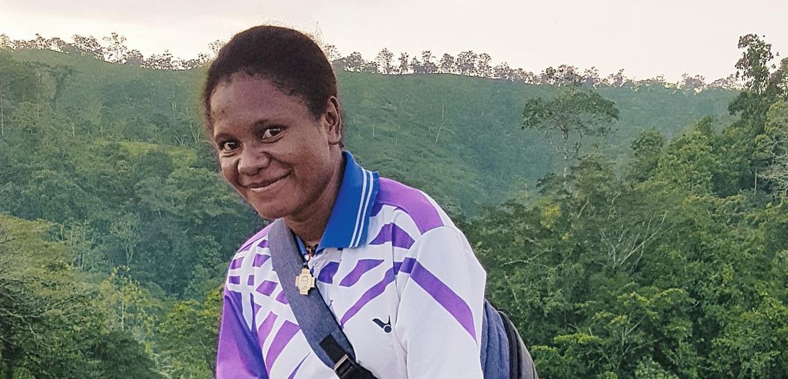 September G. Kelokelo aus Alotau in Papua-Neuguinea