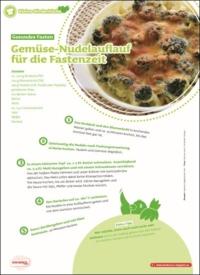 Gemüse-Nudelauflauf