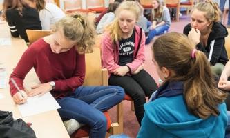 Jugendliche im Aktionszentrum Benediktbeuern