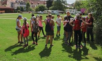 Kindergruppe in Natur in Ensdorf