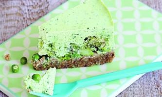Cheesecake mit Gartengemüse