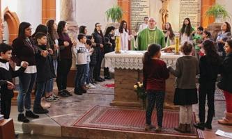 Gottesdienst der Italienischen Katholische Gemeinde in Sankt Emmeran in Mainz